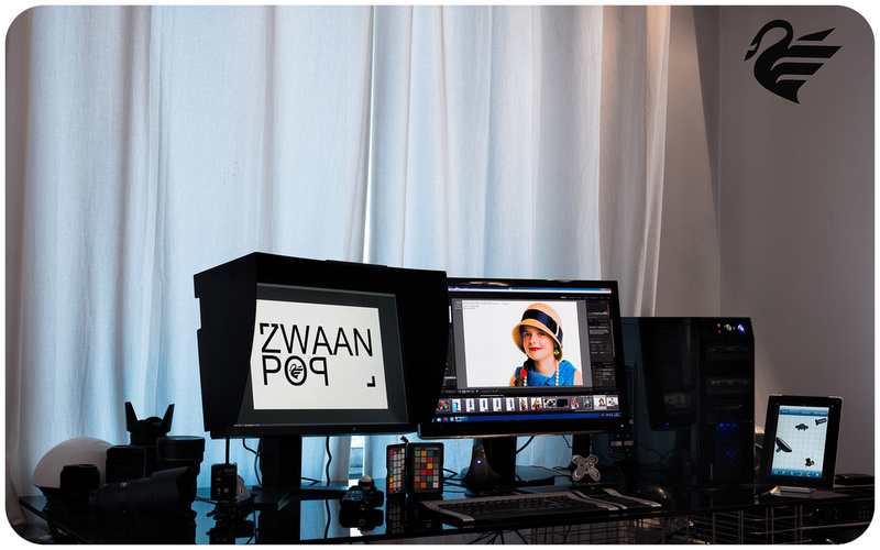 Color calibrated workstation studio ZwaanPOP